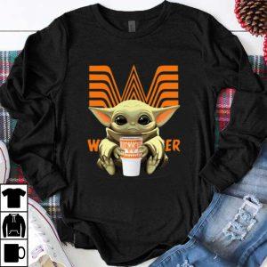 Official Baby Yoda hug Whataburger shirt