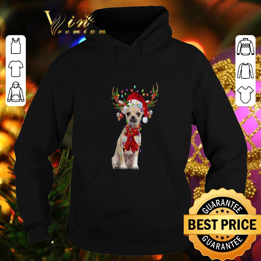 Official Chihuahua Reindeer Christmas shirt 4 - Official Chihuahua Reindeer Christmas shirt