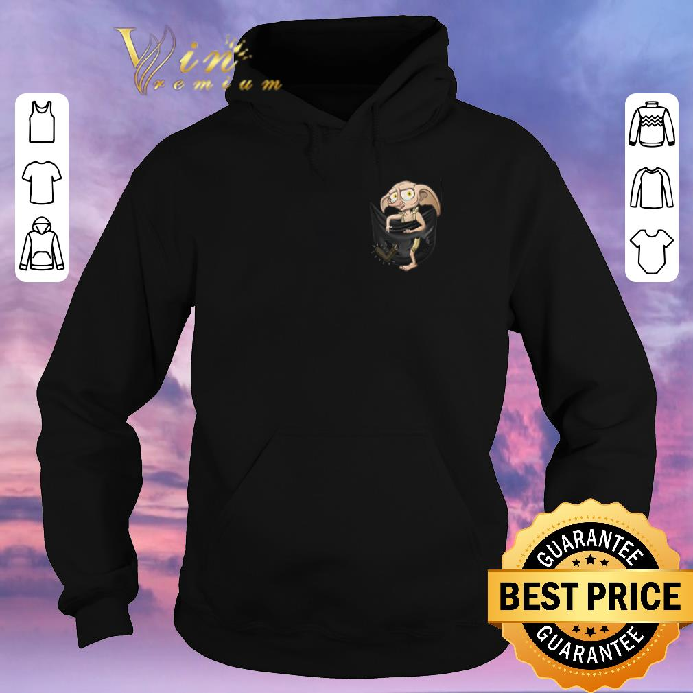 Official Dobby Harry Potter in pocket shirt sweater 4 - Official Dobby Harry Potter in pocket shirt sweater