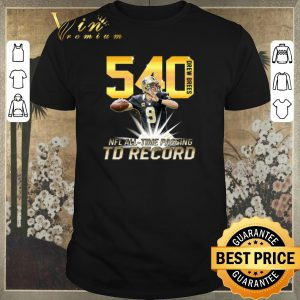 Official Drew Brees NFL all time passing to record with 540th TD shirt sweater