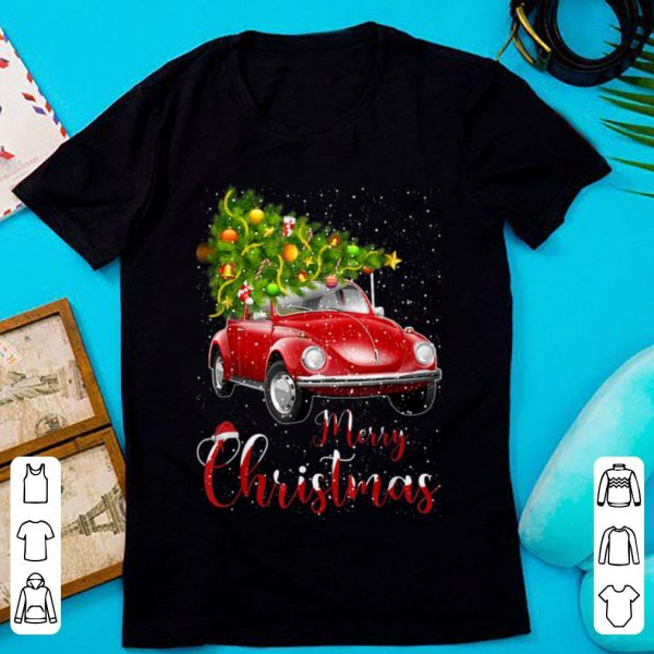 Official Merry Christmas Vintage Red Truck with Tree sweater