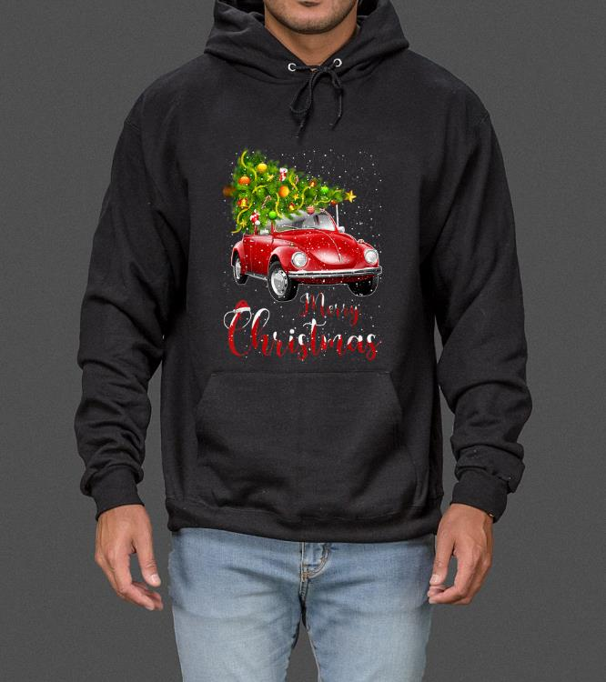 Official Merry Christmas Vintage Red Truck with Tree sweater 4 1 - Official Merry Christmas Vintage Red Truck with Tree sweater