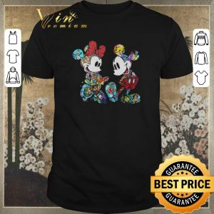 Official Mickey and Minnie Mouse with all Disney characters shirt sweater