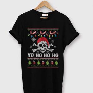 Official Santa Pirate Yo Ho Ho Ho Christmas Tee sweater