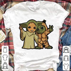 Original Baby Yoda And Baby Groot shirt
