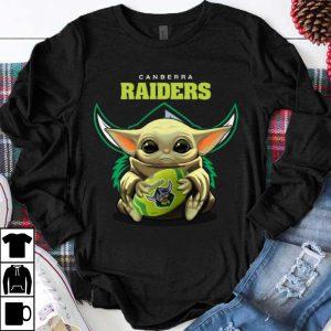 Original Football Baby Yoda Canberra Raiders shirt