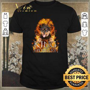 Original Game Of Thrones Rottweiler King of my heart shirt