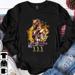 Original Lebron James the NBA Finals 2012 2013 2016 shirt