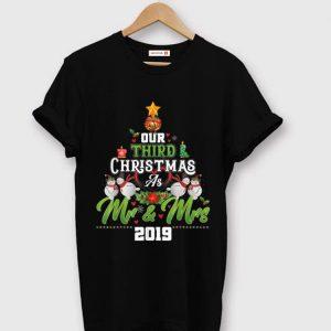Original Our Third Christmas As Mr & Mrs 2019 Christmas Tree sweater