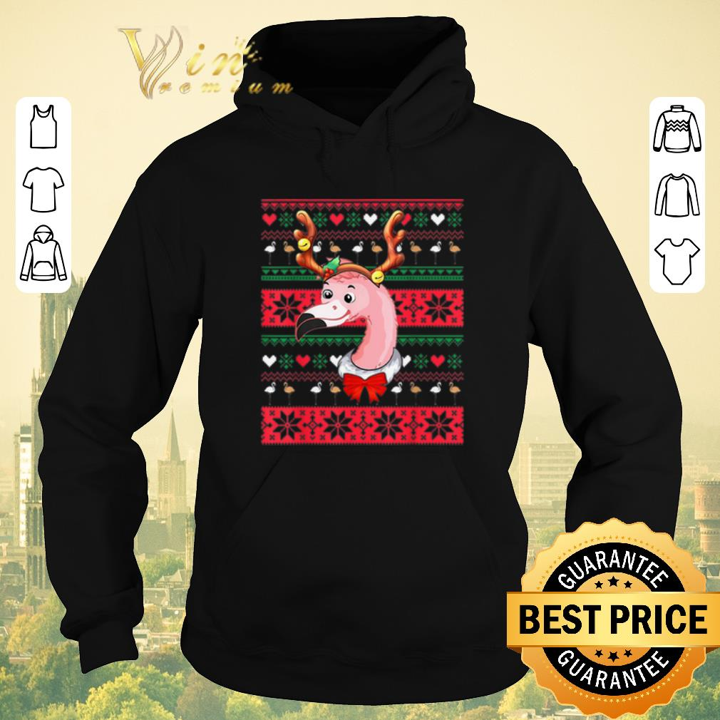 Original Ugly Christmas Flamingo Reindeer sweater 4 - Original Ugly Christmas Flamingo Reindeer sweater