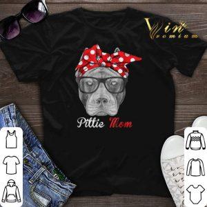 Pitbull dog Pittie Mom shirt sweater