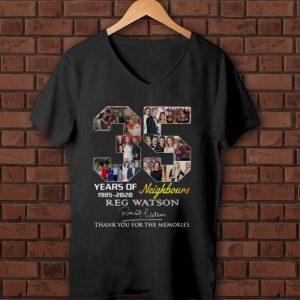 Premium 35 Years Of Neighbours Reg Watson Signature shirt