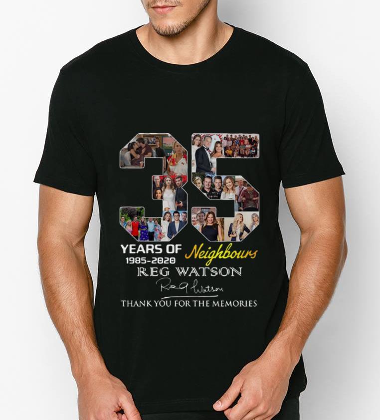Premium 35 Years Of Neighbours Reg Watson Signature shirt 4 - Premium 35 Years Of Neighbours Reg Watson Signature shirt