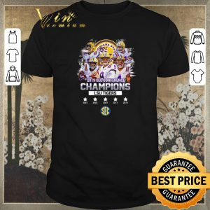 Premium All signature players 2019 Sec Conference Champions LSU Tigers shirt sweater