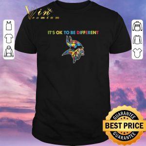 Premium Autism It's ok to be different Minnesota Vikings shirt sweater