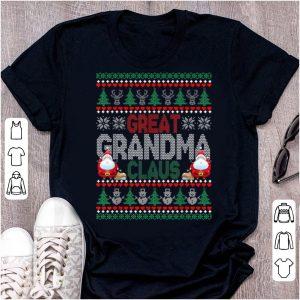 Premium Christmas - Great Grandma Ugly Sweater sweater
