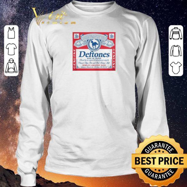 Premium Deftones King Of Bands World's Greatest Band Genuine shirt sweater