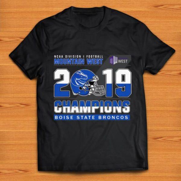 Premium Mountain West 2019 Champions Boise State Broncos shirt