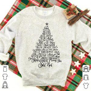 Premium Names Of Jesus Christmas Tree Gift Amazing Xmas Tree Gift sweater