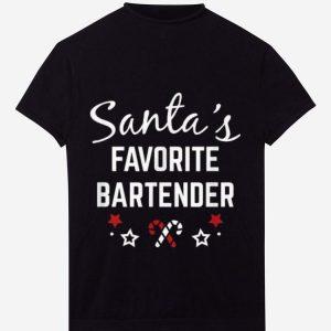 Premium Santas Favorite Bartender Christmas Gift Funny sweater