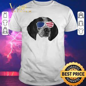 Pretty Coonhound American glasses shirt sweater