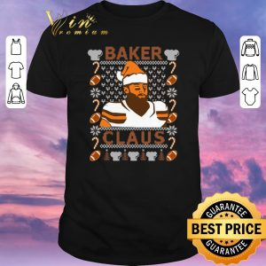 Pretty ugly christmas baker mayfield baker claus cleveland brown sweater
