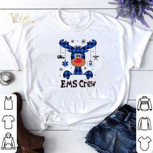 Reindeer EMS Crew Christmas shirt sweater