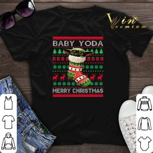 Socks Baby Yoda Merry Christmas Ugly shirt sweater