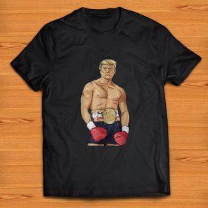 Top Donald Trump boxing heavyweight shirt