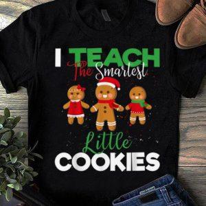 Top I Teach Smart Cookies Christmas Teacher Gingerbread Cookies sweater