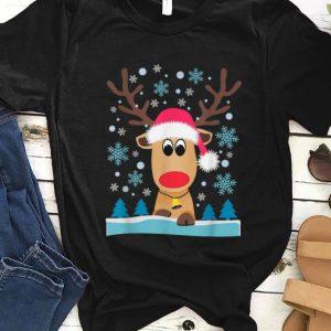 Top Reindeer Christmas Xmas Snowflakes sweater
