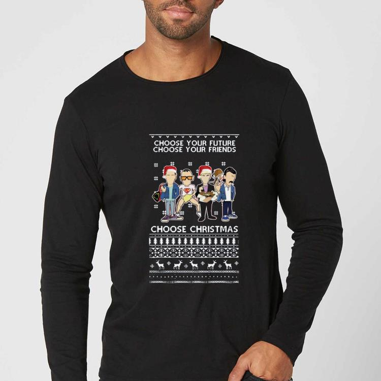 Top Trainspotting choose your future choose your friend choose christmas ugly christmas shirt 4 - Top Trainspotting choose your future choose your friend choose christmas ugly christmas shirt