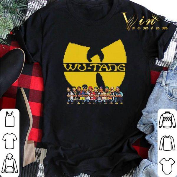Wu Tang Clan Characters shirt