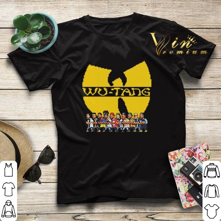 Wu Tang Clan Characters shirt 4 - Wu Tang Clan Characters shirt