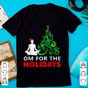 Yoga Christmas Gift - Om for the Holidays sweater
