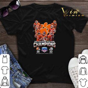 2019 Playstation Fiesta Bowl Champions Clemson Tigers shirt sweater