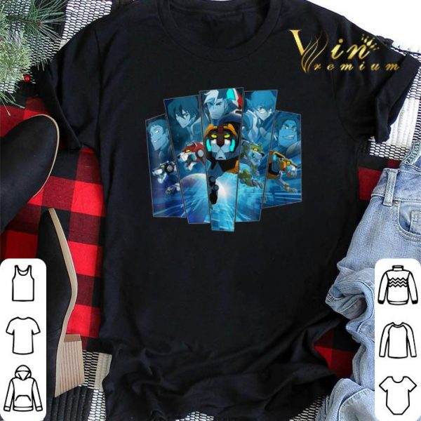 5 Lions In Blue Voltron Legendary Defender shirt sweater