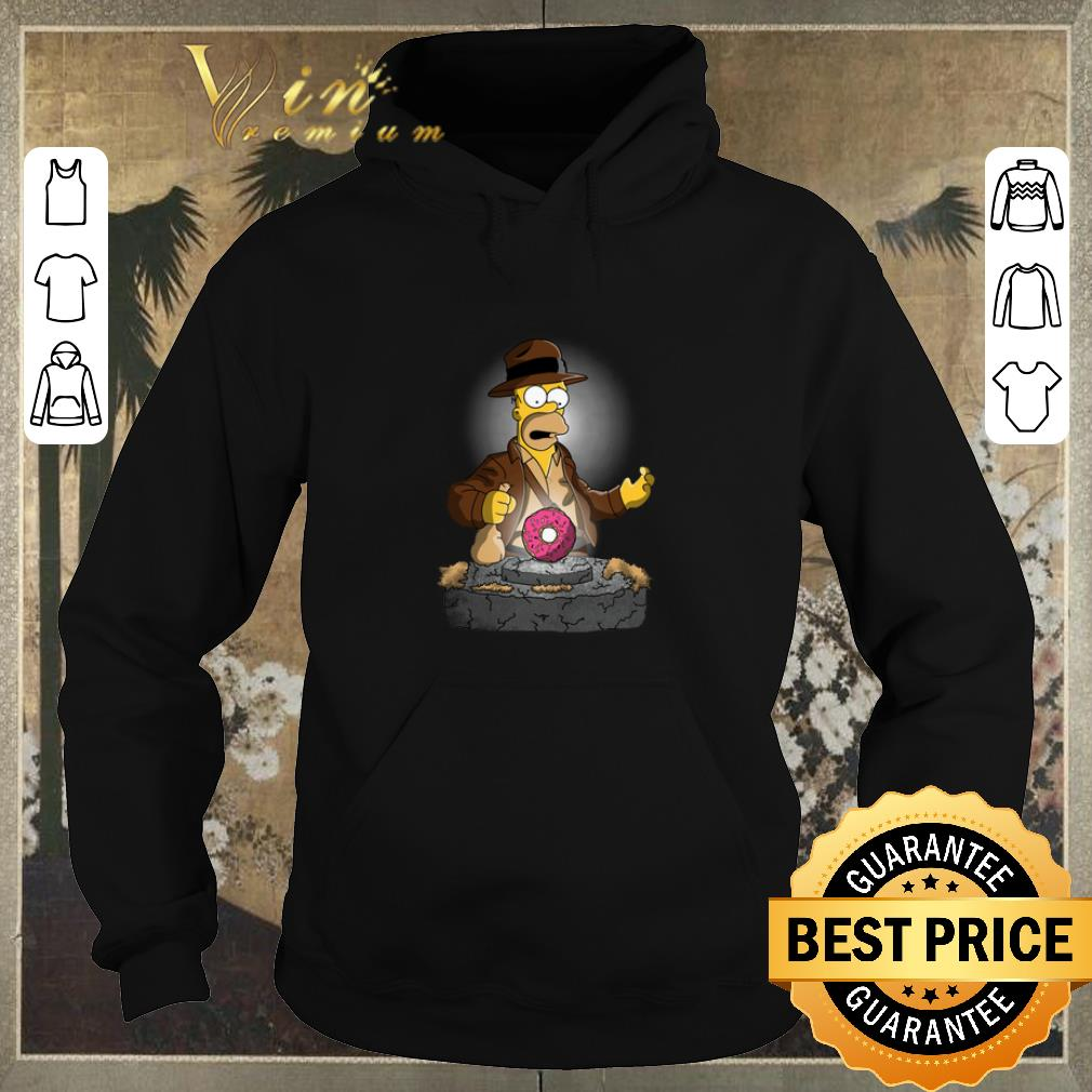 Awesome The Simpsons Adventures of Indiana Homer shirt sweater 4 - Awesome The Simpsons Adventures of Indiana Homer shirt sweater