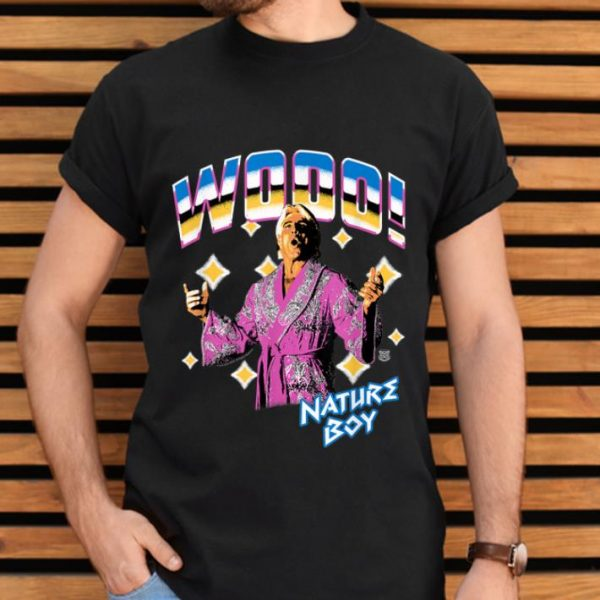 Awesome WWE Ric Flair Wooo Nature Boy shirt