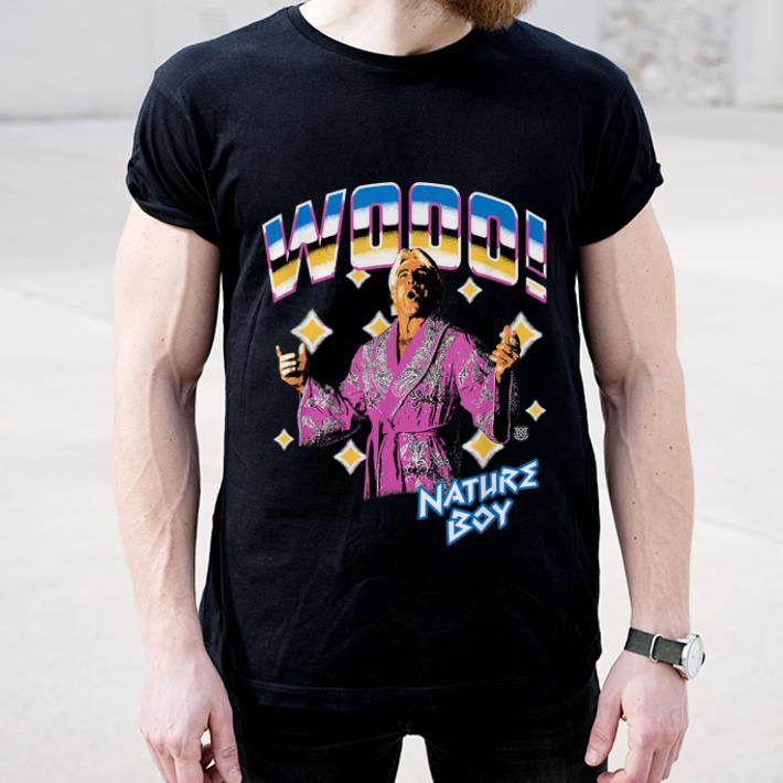 Awesome WWE Ric Flair Wooo Nature Boy shirt 4 - Awesome WWE Ric Flair Wooo Nature Boy shirt