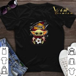 Baby Yoda Blood Inside As Roma shirt sweater