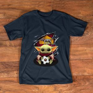 Beautiful Baby Yoda Blood Inside As Roma shirt