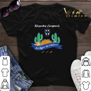Futbol Monterrey Rayados Campeon Lo Mejor De Mexico shirt sweater