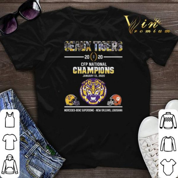 Geaux Tigers 2020 CFP National Champions LSU Clemson Tigers shirt sweater
