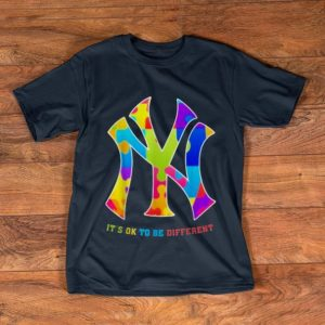 Great MLB New York Yankees It's Ok To Be Different shirt