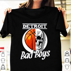 Hot Detroit Bad Boys Skull shirt