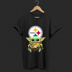 Nice Star Wars Baby Yoda Hug Pittsburgh Steelers shirt