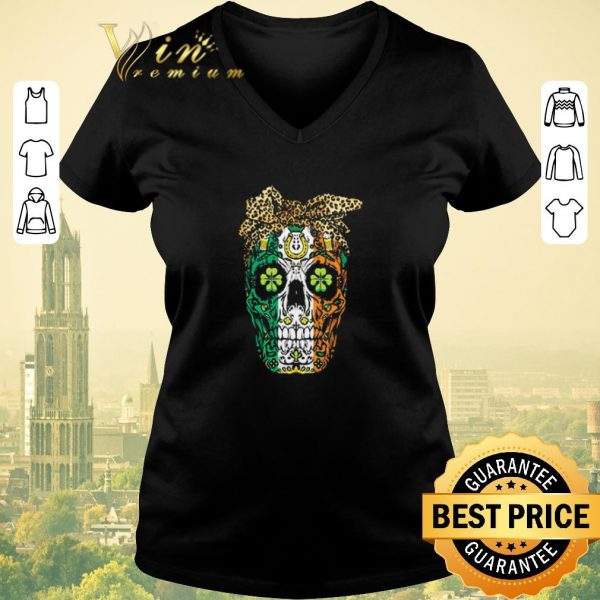 Nice Sugar Skull Mom Cookies St Patrick's Day shirt sweater