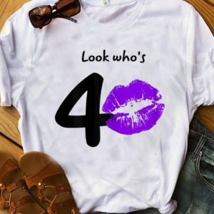 Official Look Who's 40 Years 40th Happy Birthday shirt