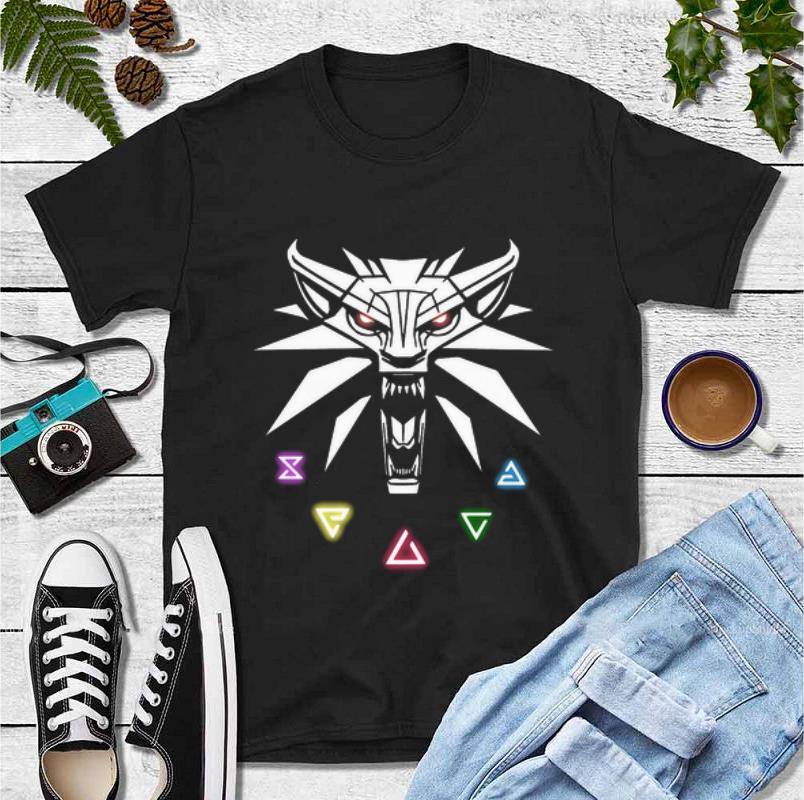 Official The Witcher Wild Hunt Enamel Pin shirt 4 - Official The Witcher Wild Hunt Enamel Pin shirt